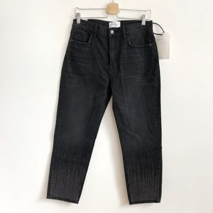 Current Elliott The Vintage Cropped Slim Jeans 29